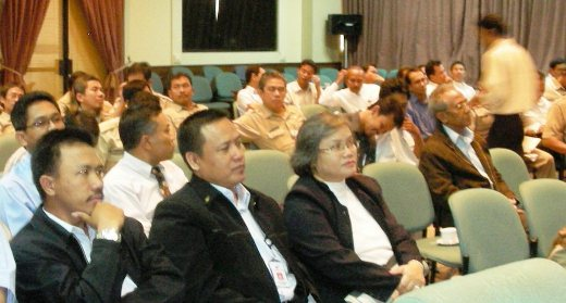 Audience presentasi K3 di ktbg
