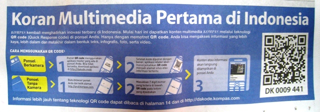 Koran Mulitmedia Indonesia Pertama