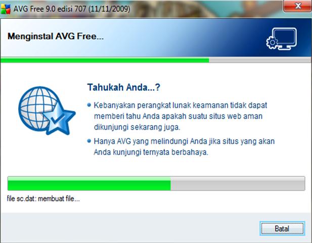 Install AVG