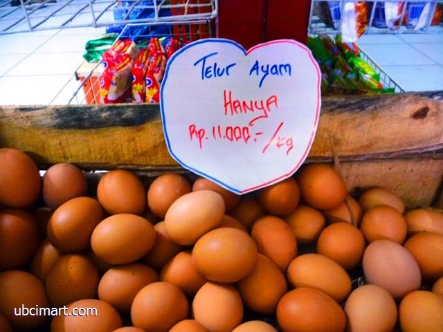 Telur per kg jug acuma 11 ribu