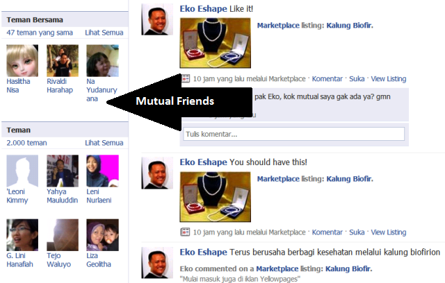 Mutual Friends
