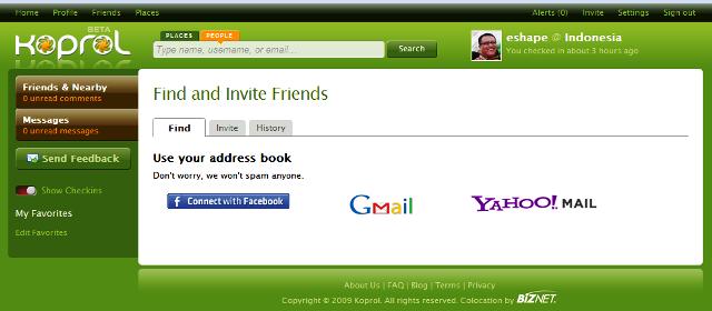 Mencari teman