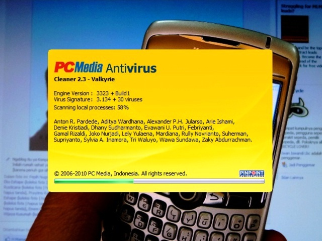 PC Media Antivirus Cleaner 2.3