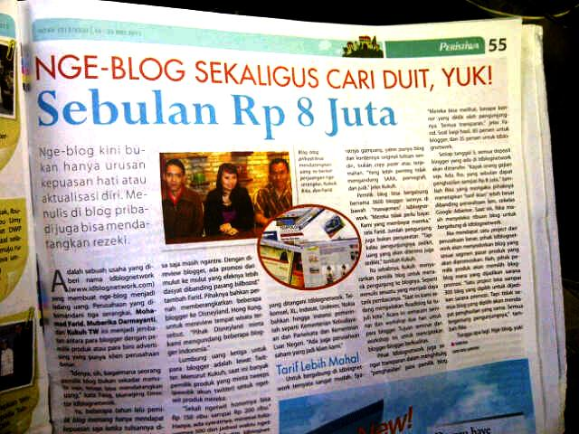Tabloid Nova 16 Mei 2011