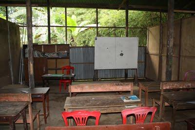 Ruangan kelas kandang sapi