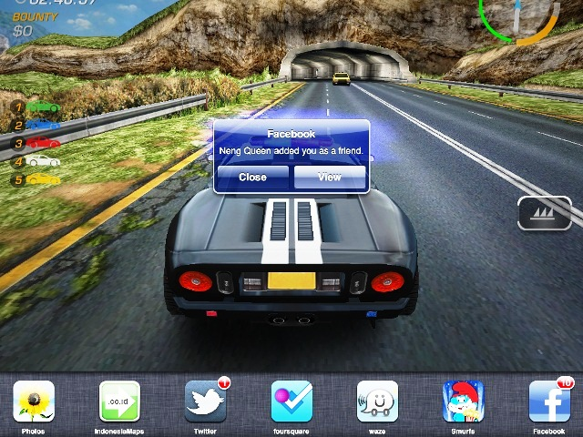 Need For Speed di Ipad2