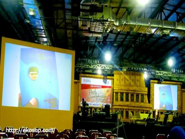 Promo Buku pak Dhe ngeblog di Pesta Wirausaha TDA