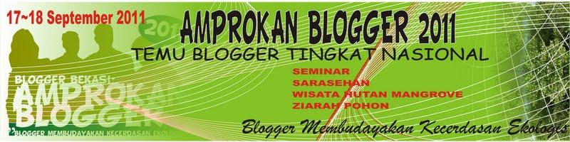 Spanduk Amprokan Blogger 2011 (draft)
