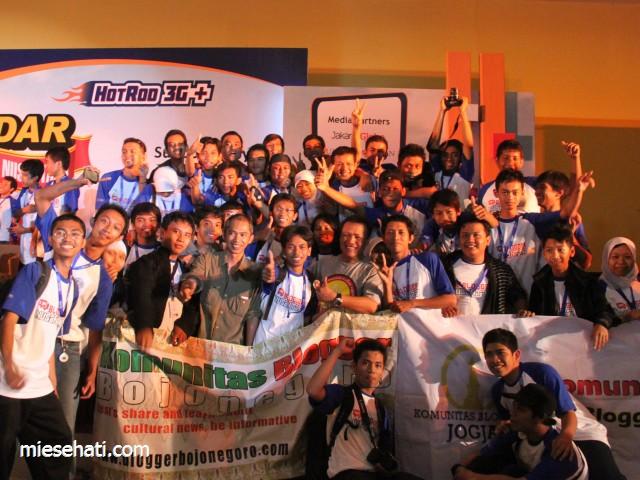 Sebagian blogger Jogya yang hadir di acara BN 2011