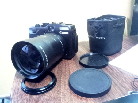 Camera G12 plus tele