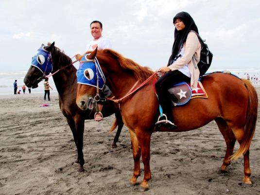 Kuda di Parang tritis (8)