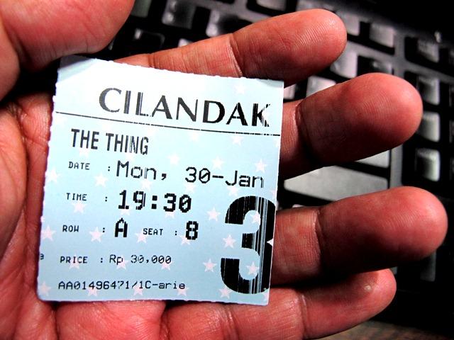 tiket The Thing