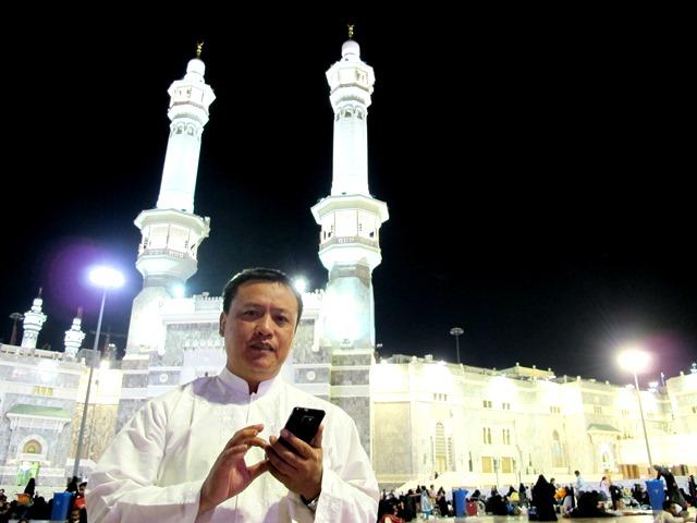 Gerbang utama masjidil Haram Kabah Mekah