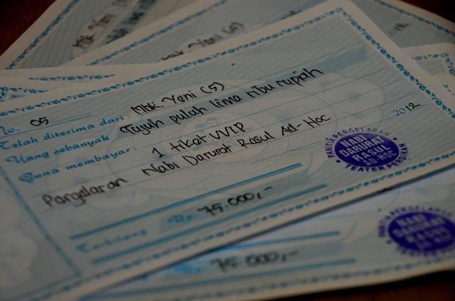 Beli tiket Nabi Darurat duluan harganya lebih murah