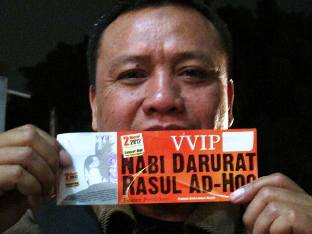 Beli Indonesia, tonton Rasul Darurat, asli produk Indonesia