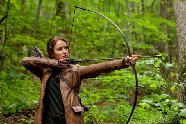 Hutan yang indah di film Hunger games