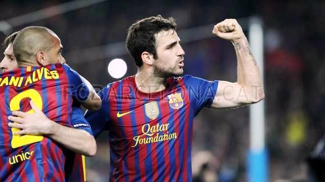 Cesc Fàbregas Barcelona