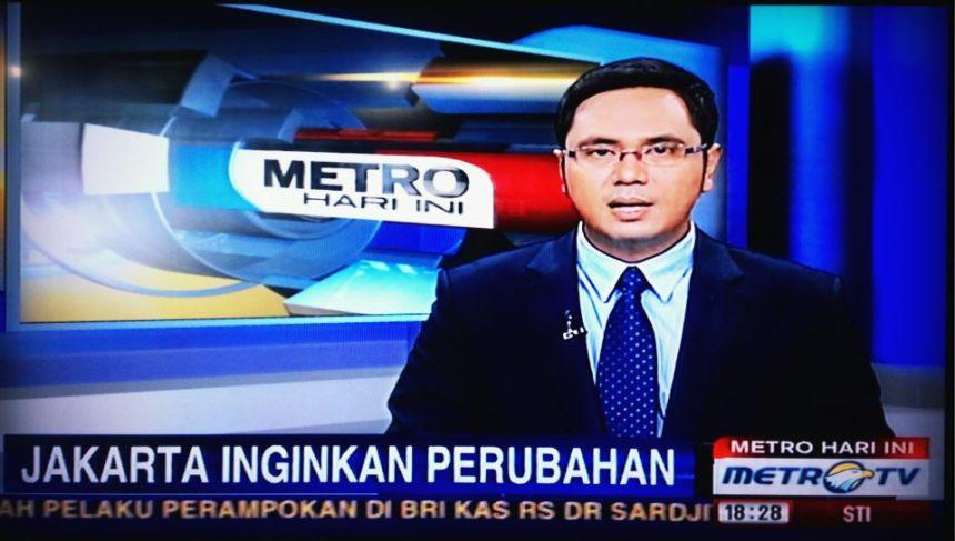 Djakarta ingin perubahan metro 1