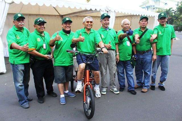 Gowes Guyub 2012 Menteri PU