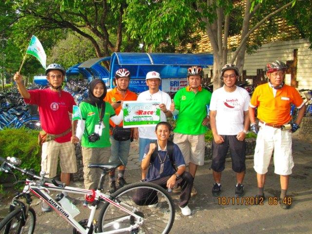 Sepedaan #GowesPagi bersama GreenRace