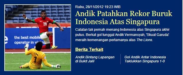 Satu #Timnas Satu #Indonesia