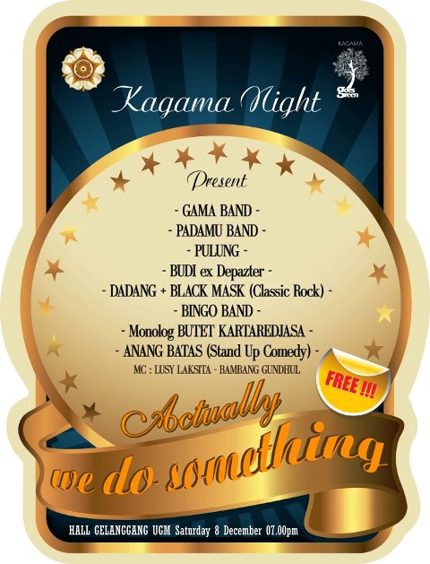 Kagama Night : We are the champions