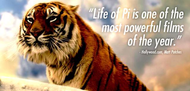 Richard Parker sang Harimau dalam Life of PI