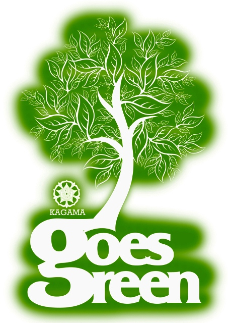 Poster Kagama Goes Green
