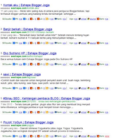 Googling eeshape