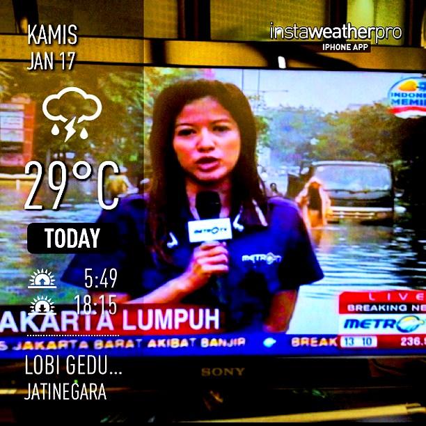 Peduli banjir Jakarta