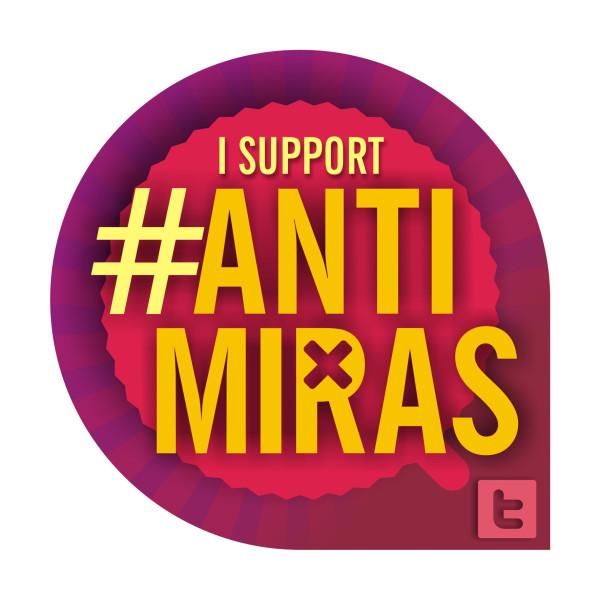 Logo Anti Miras Wanita