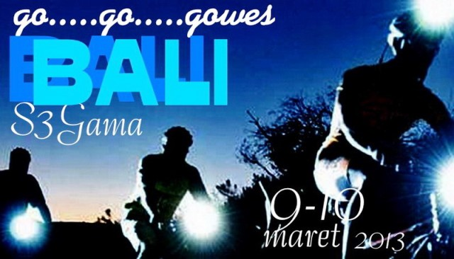 go...go...gowes Bali 2013