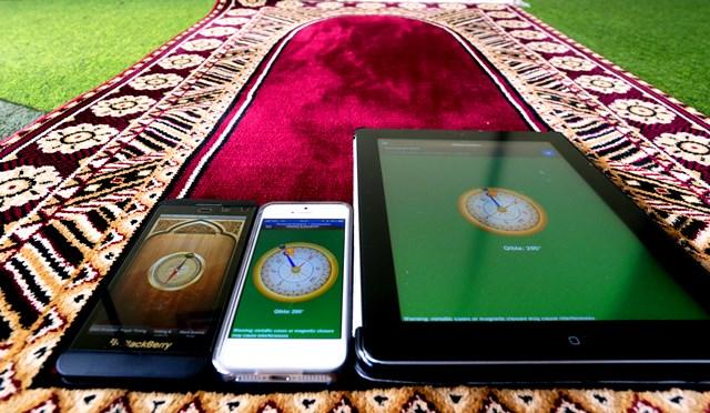 Mencari Kiblat dengan berbagai gadget