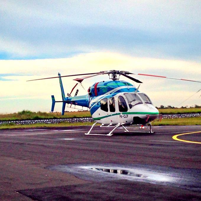 Helikopter Airport Hananjoeddin