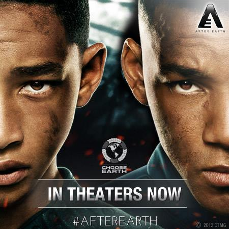 Danger is real Fear is Choice (After Earth)