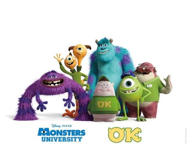 Monster University, sekolah impian para Monster