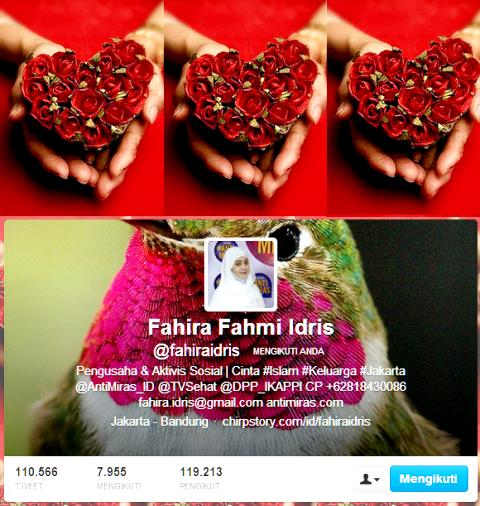 Akun twitter Fahira