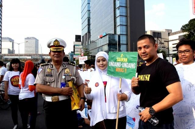 Sinergi Polisi dan GeNAM