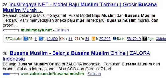 Searching busana muslim