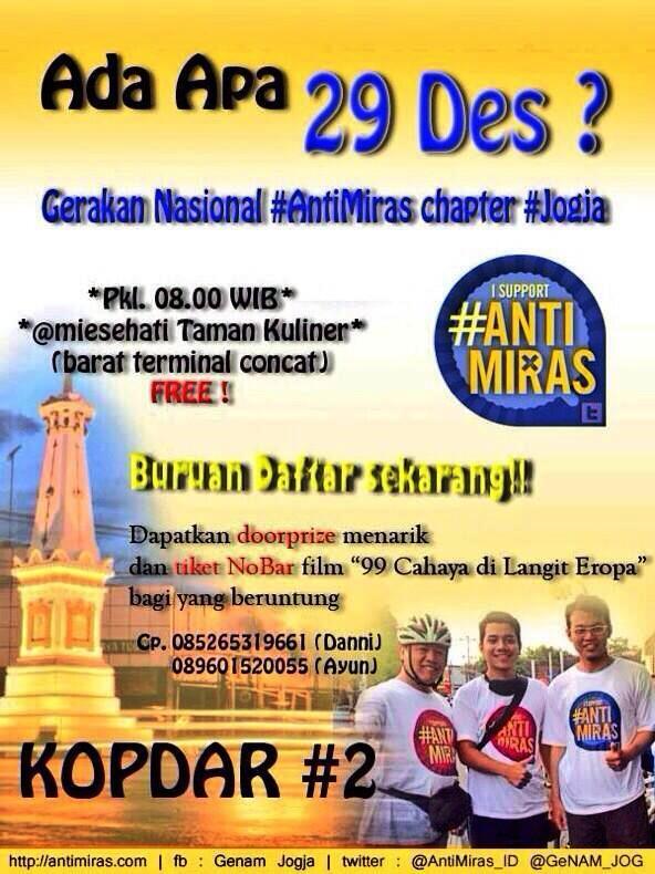 Kopdar GeNAM Jogja 29 Desember 2013