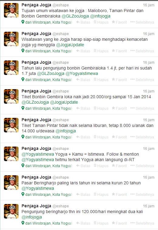 Twitter Penjaga Jogja