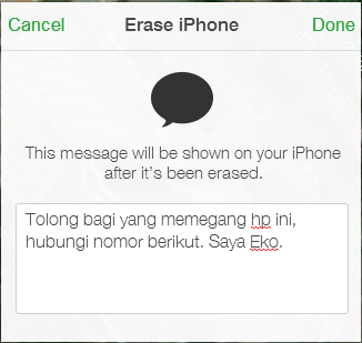 Lost Mode iPhone 5