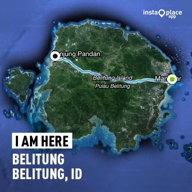 Rute Gowes Pulau Belitung