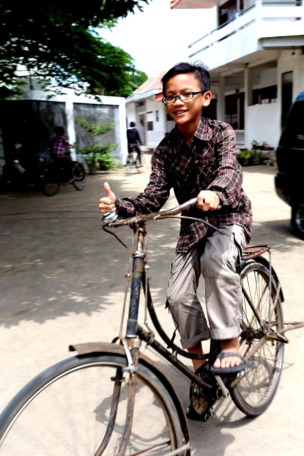 Lilo Gowes sepeda onthel