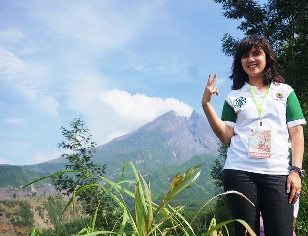 Lokasi di Lapangan Instiper, Dusun Kalitengah Kidul, Desa Glagaharjo, Kce. Cangkringan, Sleman. Koordinat : 110° 27.329' E ; 7° 35.248' S