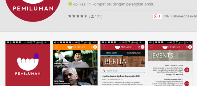 Pilpres 2014 under Android
