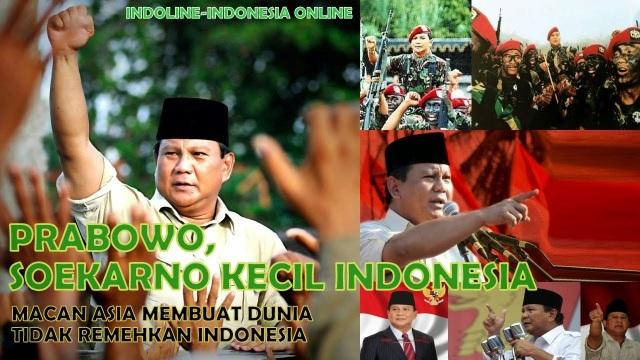 Prabowo Soekarno Kecil Indonesia