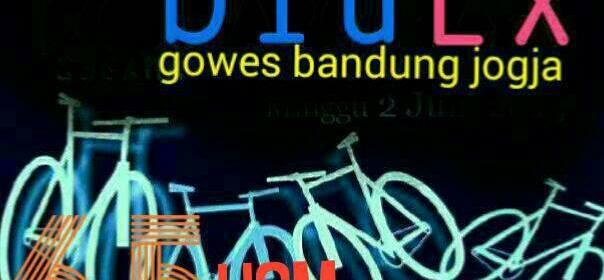 Jangan lupa persiapam Gowes Bandung Jogja