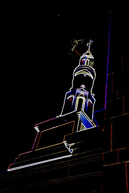 Masjid di kala hening malam