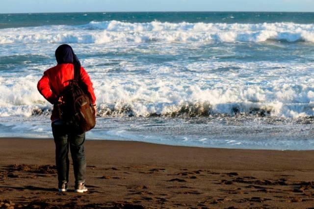 Menikmati laut lepas di Jogja